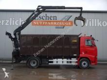Volvo FH 460 4x2, EEV, Penz 15 LR 8.5 m Kran