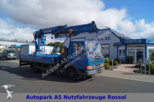 DAF 45 T Kran MKG 1401 FUNK Seilwinde Montage Dachde