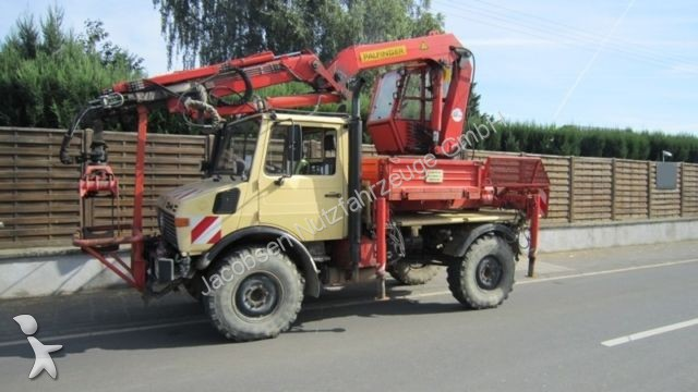 grue mobile mercedes unimog u1250 forstaustattung. Black Bedroom Furniture Sets. Home Design Ideas