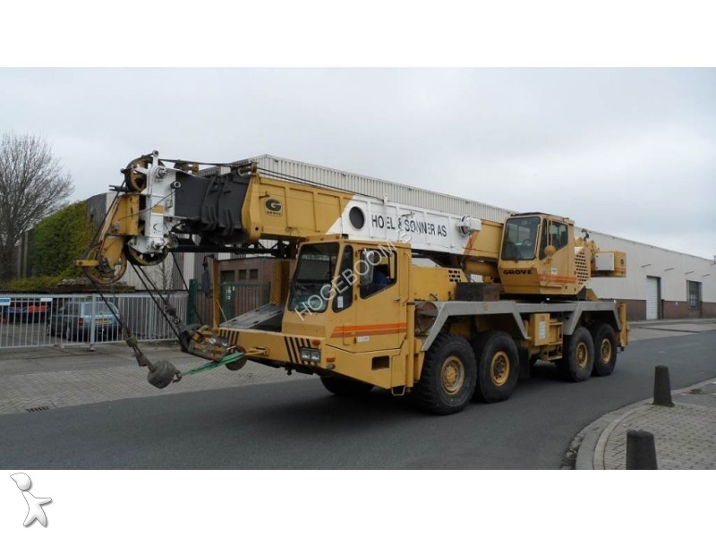 Used Grove Cranes : Used grove mobile crane at b n?