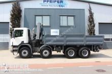 Scania auxiliary crane