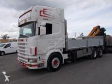 gru/autogrù Scania R 164 LB 6X2*4 NB 580 E RIMORCHIO ACERBI 22R10CBP/