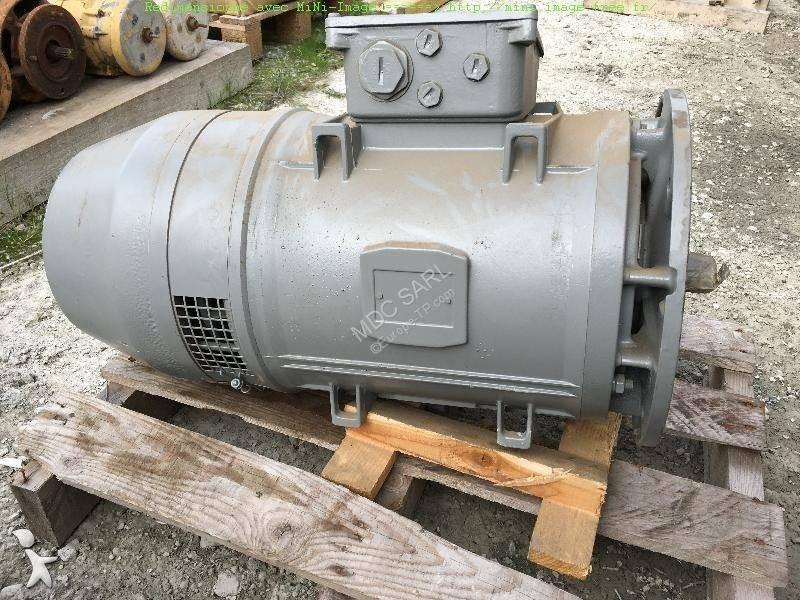 Grue Potain moteurs électriques