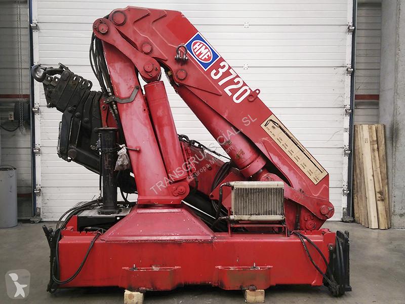 HMF 3722 K6 D crane
