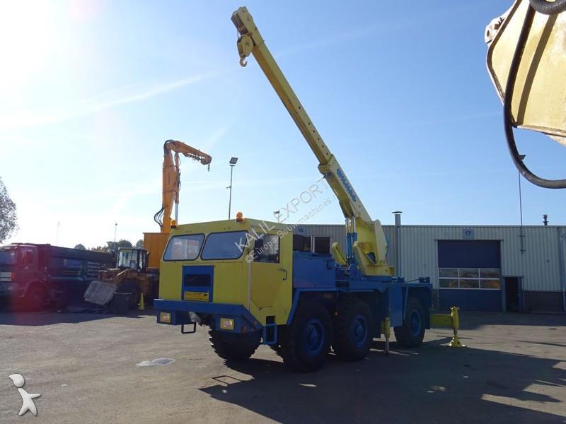 Faun L912/21 Crane Tow Bar Recovery Truck Good Condition crane