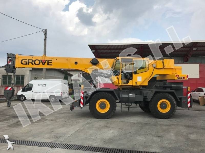 Grove RT530E crane