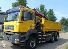 automacara MAN 26.360 6x6 HMF 1560 EURO 3 WYWROTKA HYDROBURTA bordmatic HDS