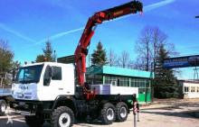 grue Star 266 MAN HMF 2220 HDS żuraw dźwig 6x6 8 ton Palfinger HIAB Hmf Fassi Atlas