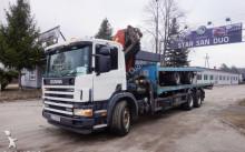 Scania 114 G 6x4 PALFINGER PK 42502 HDS jak 44002