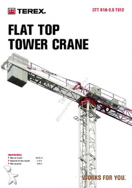 Comedil CTT61 crane