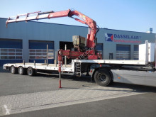 Broshuis 3 ABSD 48, HIAB 330 , 2 x Extandeble, Power Steering, 25.5 Mtr. heavy equipment transport