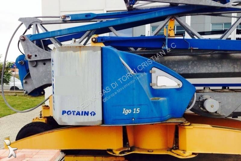 View images Potain IGO 15 crane