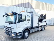 camion Mercedes Atego 1324 4x2 Atego 1324 4x2 mit Heckkran Hiab XS 099 E-4 HiDuo, Funk