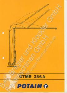 Potain GTMR 356 A