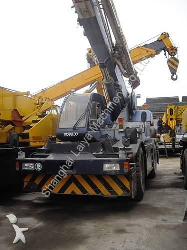 View images Kobelco Used Kobelco 25t Rough Terrain Crane RK250 crane