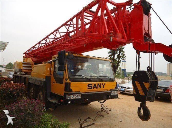 Vedeţi fotografiile Automacara Sany QY50C