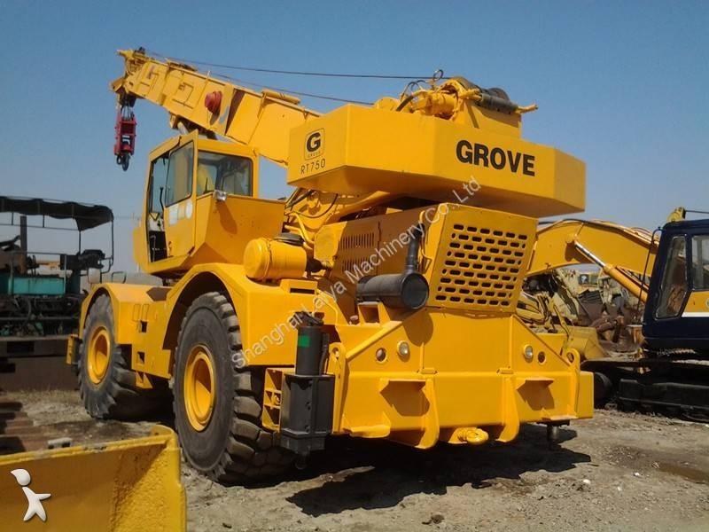 Voir les photos Grue Grove RT750