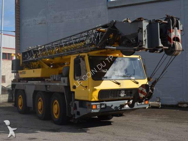 Used Grove Cranes : Used grove mobile crane gmk n?