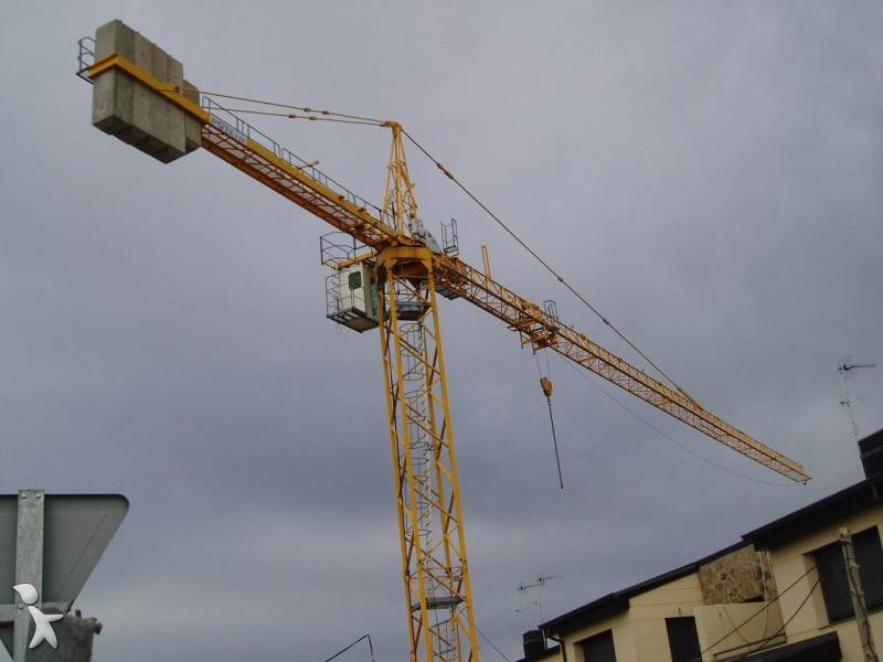 Tower Crane Uses : Used potain tower crane md a n?