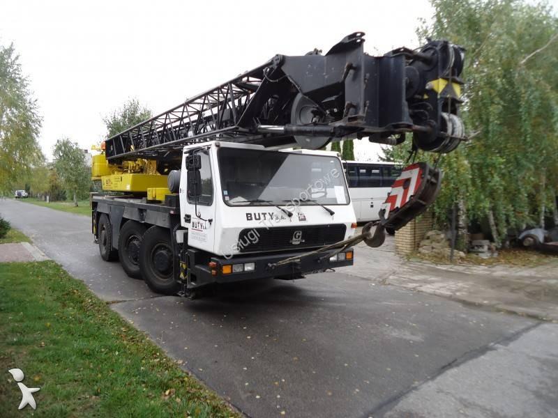 Used Grove Cranes : Used grove gmk mobile crane n?