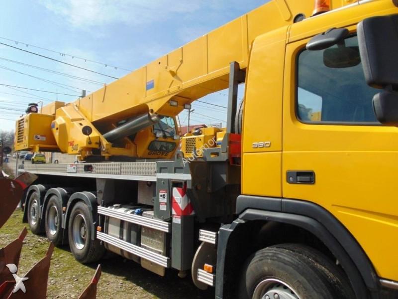 Used Grove Cranes : Used grove mobile crane tmc n?