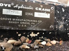 View images Grove RT75S crane