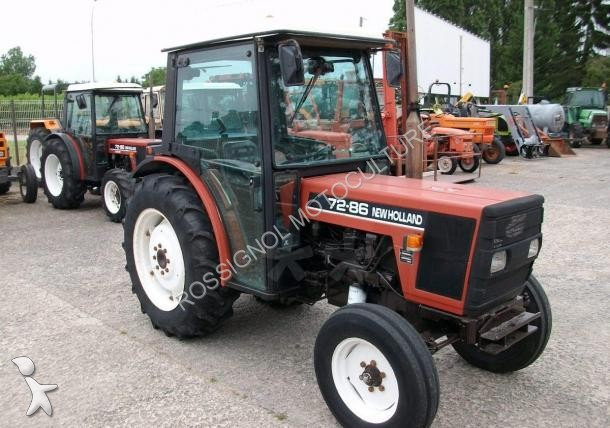 tracteur fruitier fiat 72 86 occasion n 1606145. Black Bedroom Furniture Sets. Home Design Ideas