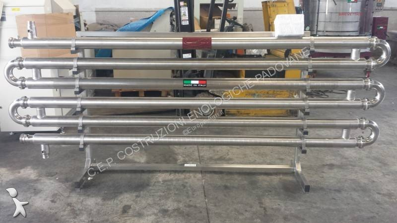 View images C.E.P. SCAMBIATORE TUBO IN TUBO/HEAT EXCHANGER TUBE IN TUBE INOX 304/ÉCHANGEUR INOX wine growing/making