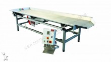 C.E.P. TAVOLO VIBRANTE/VIBRATING GRAPE SORTING TABLE/TABLE VIBRANTE POUR LE TRI DU RAISIN TV800X3000