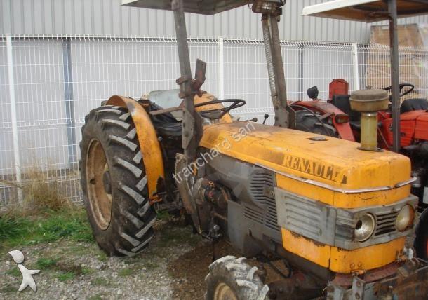 tracteur vigneron renault 42 70v occasion