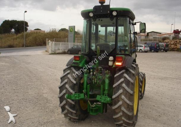 tracteur vigneron occasion john deere nc 5515v