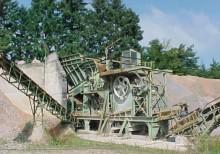 trituradora-cribadora usado