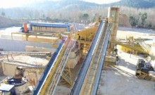 n/a unité compléte de concassage et lavage de sable 300à400 t/h Marque GOSAG année 2006