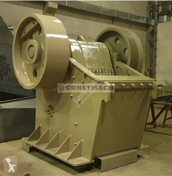 View images Constmach JAW CRUSHER - 100-150 tph CAPACITY crushing, recycling