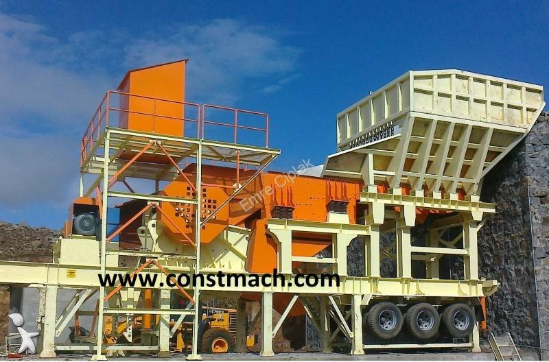 Constmach JAW CRUSHER - 1250 x 900 mm - 400 tph CAPACITY crushing, recycling