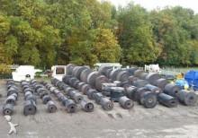 concasare, reciclare n/a bandes transporteuses