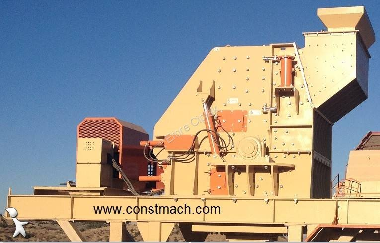 Constmach SECONDARY IMPACT CRUSHER - 200 tph crushing, recycling