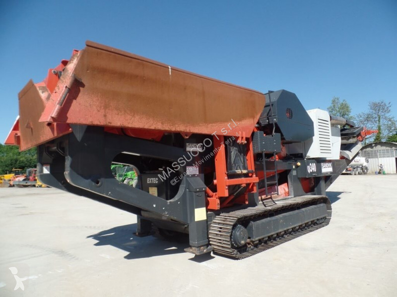 Concassage, recyclage Sandvik QJ340 MEGABITE