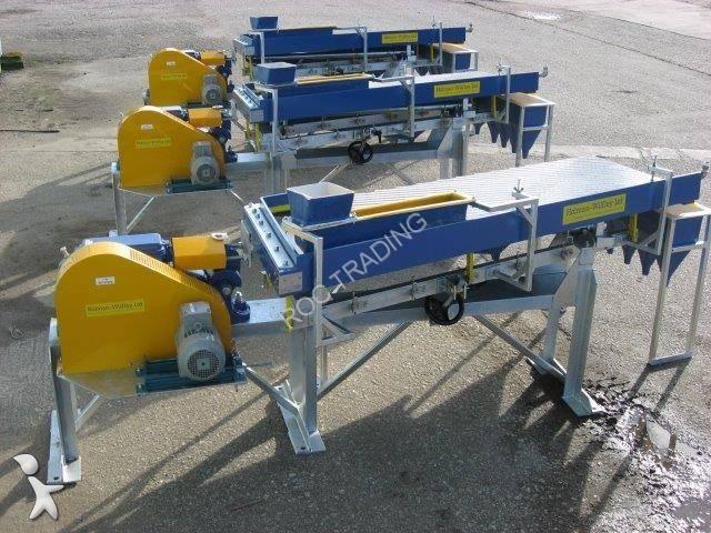 Wilfley S 2000 crushing, recycling