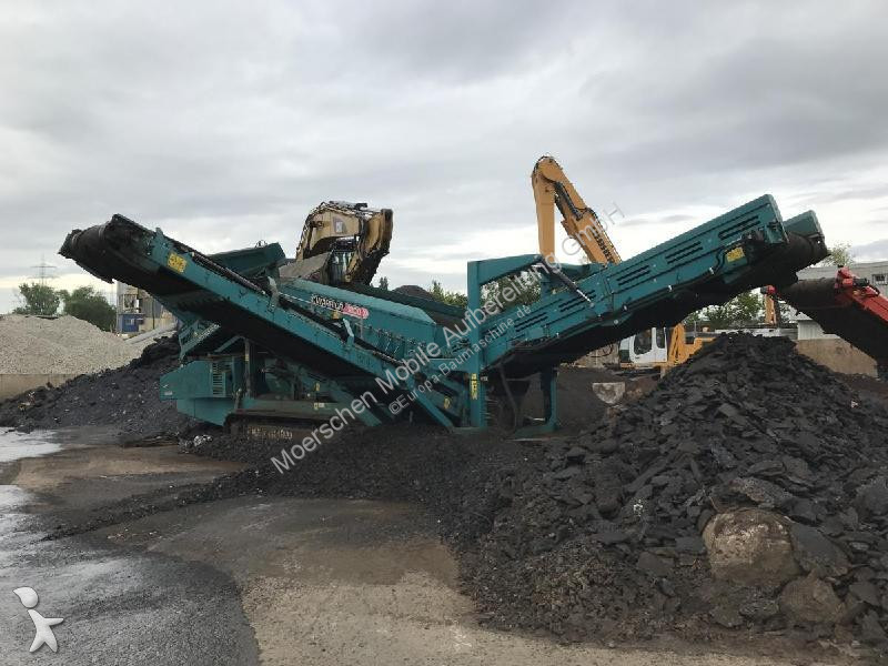 Powerscreen Warrior 1800 crushing, recycling