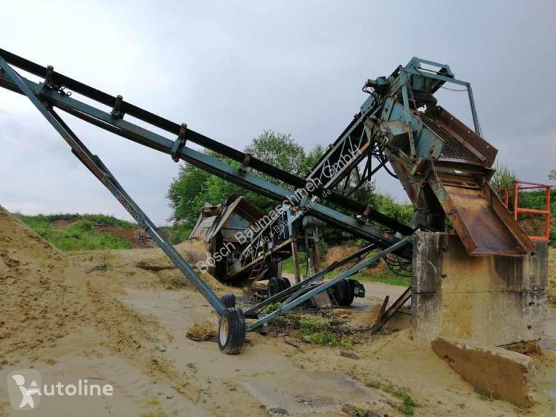 Powerscreen MK II 6x4 + M60C crushing, recycling