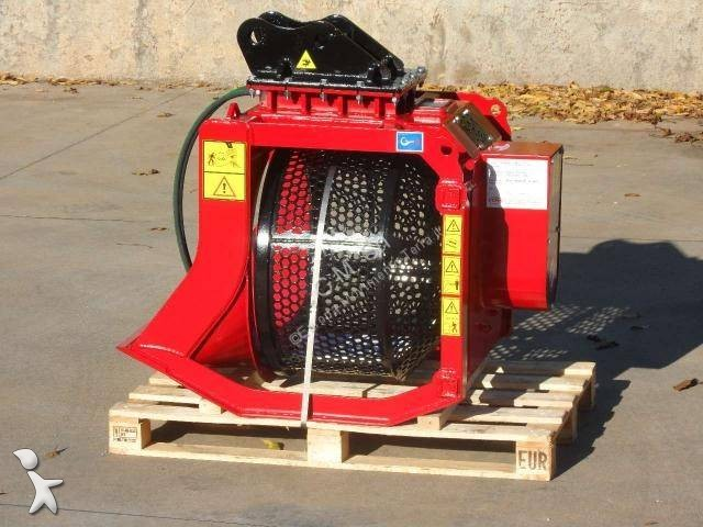 Concassage, recyclage CM Screening bucket/Benna Vagliatrice mod. CBR