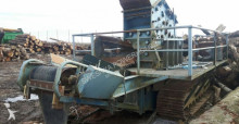 Powerscreen Hazemag crushing, recycling