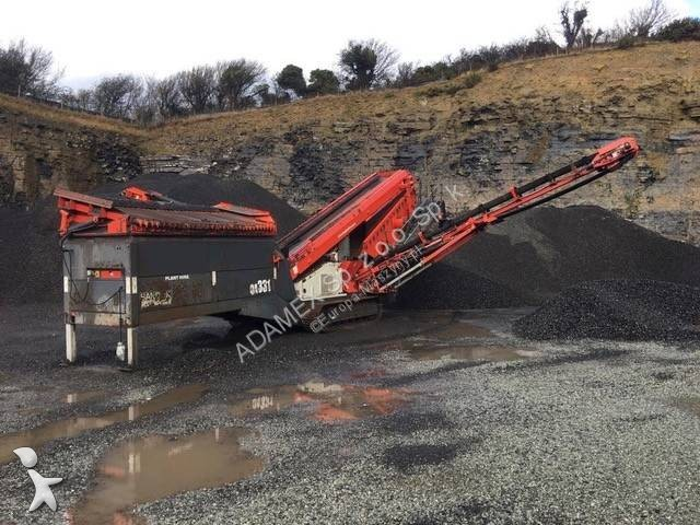 Concassage, recyclage Sandvik QA331