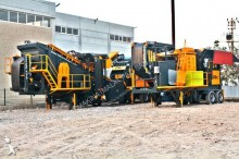 Fabo MCK HARDSTONE CRUSHING SCREENING BASALT, GRANITE, GABBRO CRUSHER | 2 CHASSIS