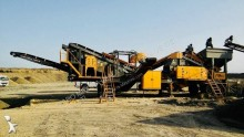 Fabo mobile tertiary crushing screening plant | making sand | concassage criblage mobile MTK-100