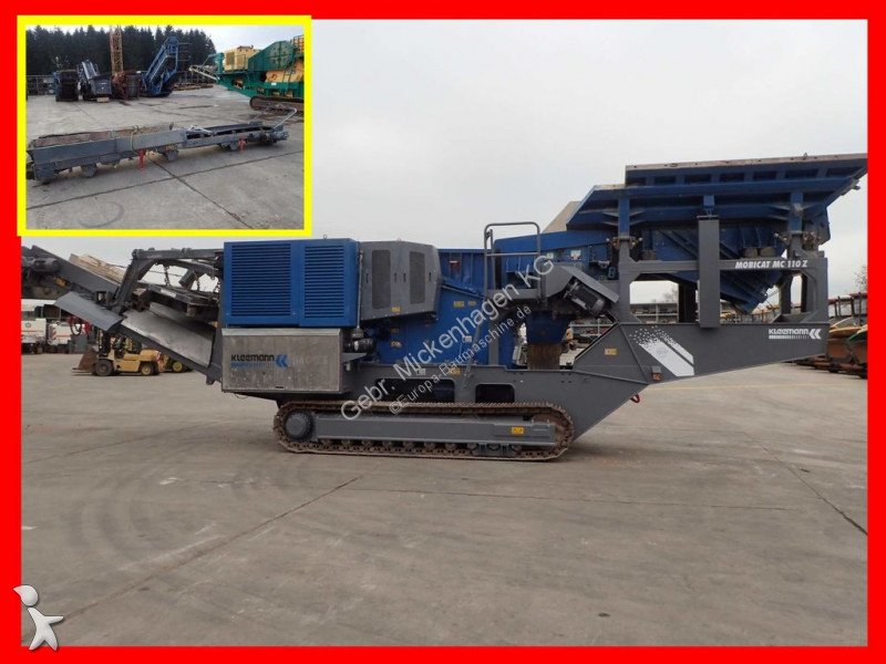 Concassage, recyclage Kleemann MC 110 Z