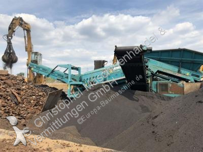 Powerscreen Warrior 1800 Brechen, Recycling