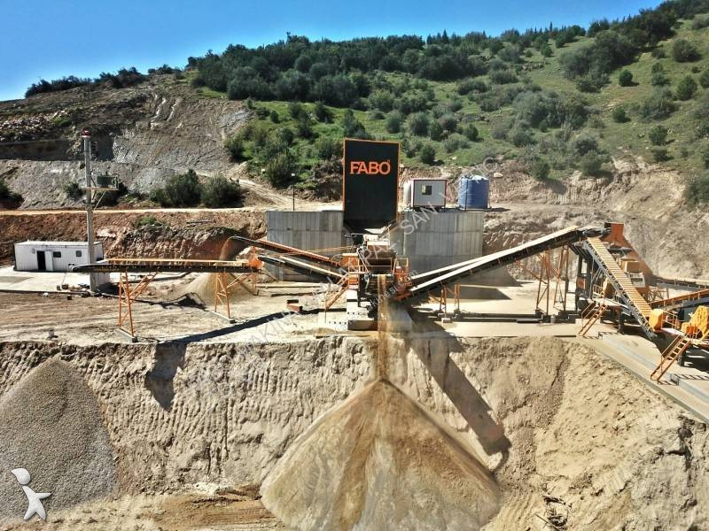 Fabo PRO-100 MOBILE CRUSHING & SCREENING PLANT | CONCASSEUR CRIBLAGE MOBILE| LIMESTONE crushing, recycling