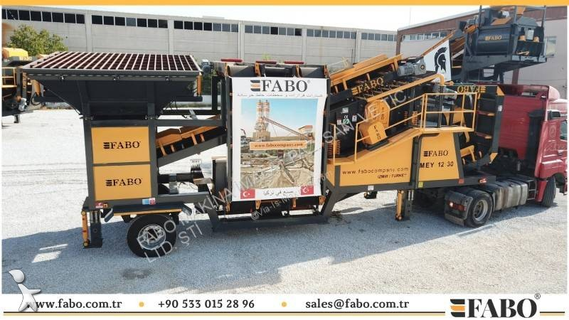 Fabo MOBILE SCREENING WASHING PLANT | MEY-1230 USINE DE LAVAGE ET CRIBLAGE MOBILE crushing, recycling